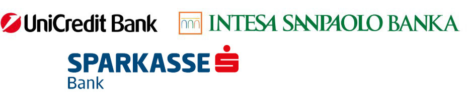 UniCredit Bank - Intesa SanPaolo Banka - Sparkasse Bank